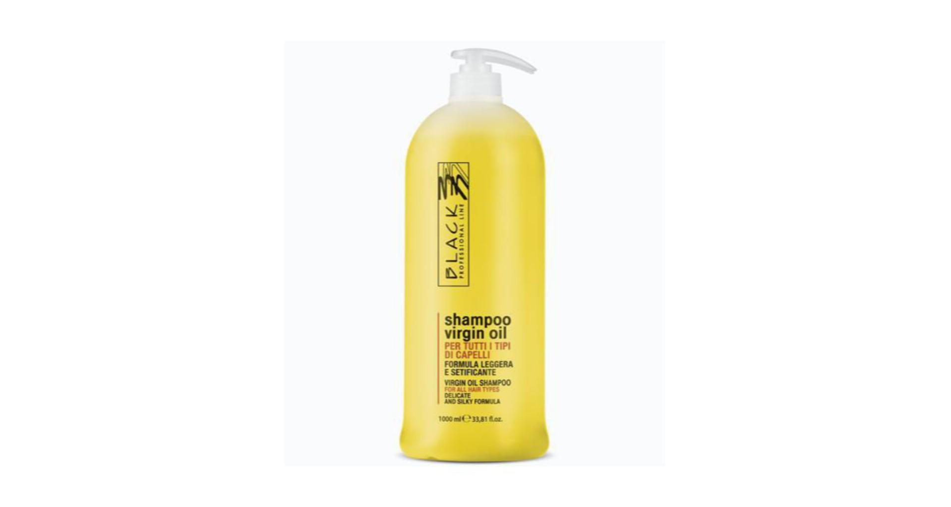 Шампунь Black Professional Line, для всех типов волос, 1000 мл цена 2017