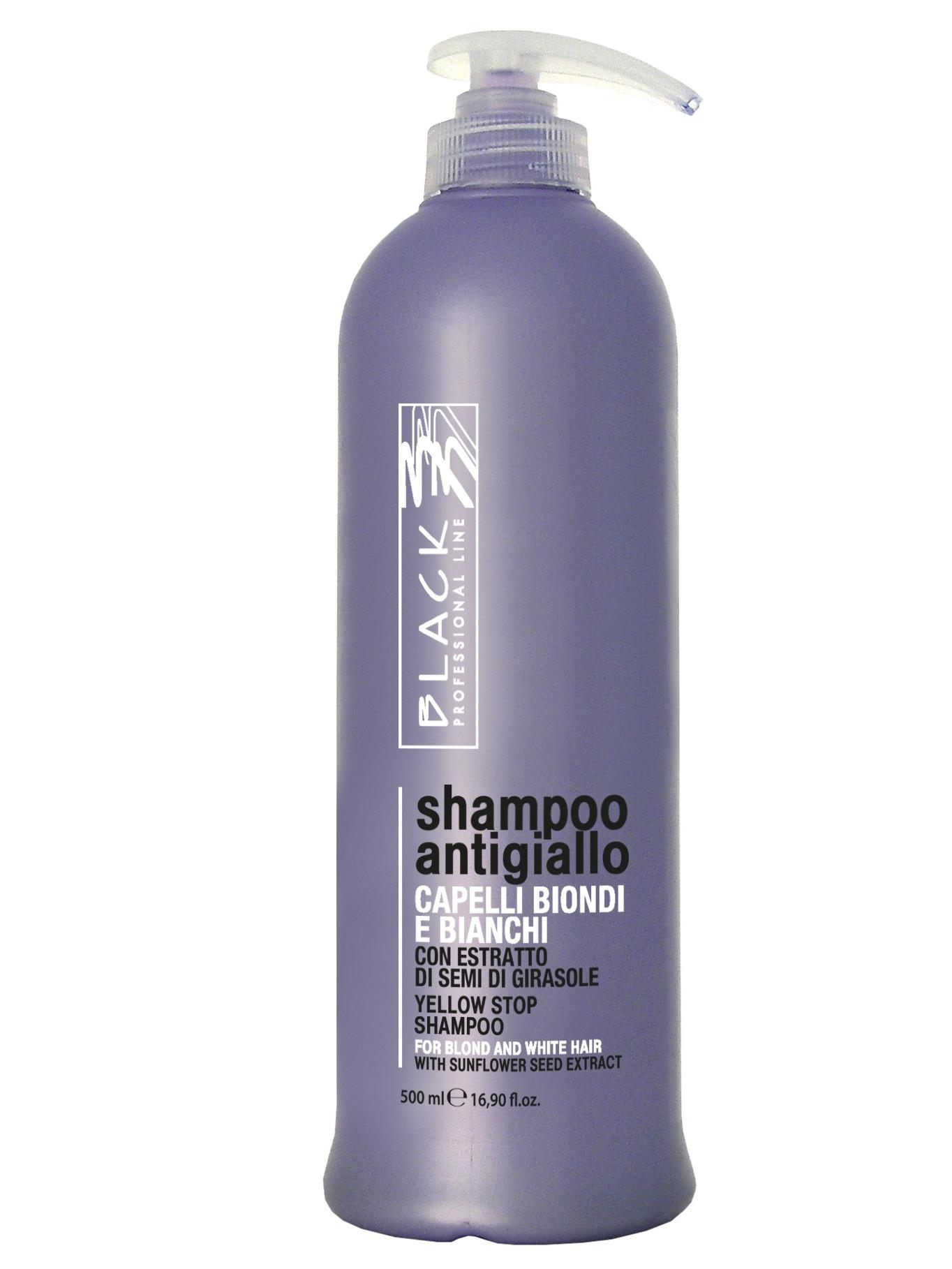 Бальзам для волос Black Professional Line против желтизны для седых, осветленных и мелированных волос, 500 мл