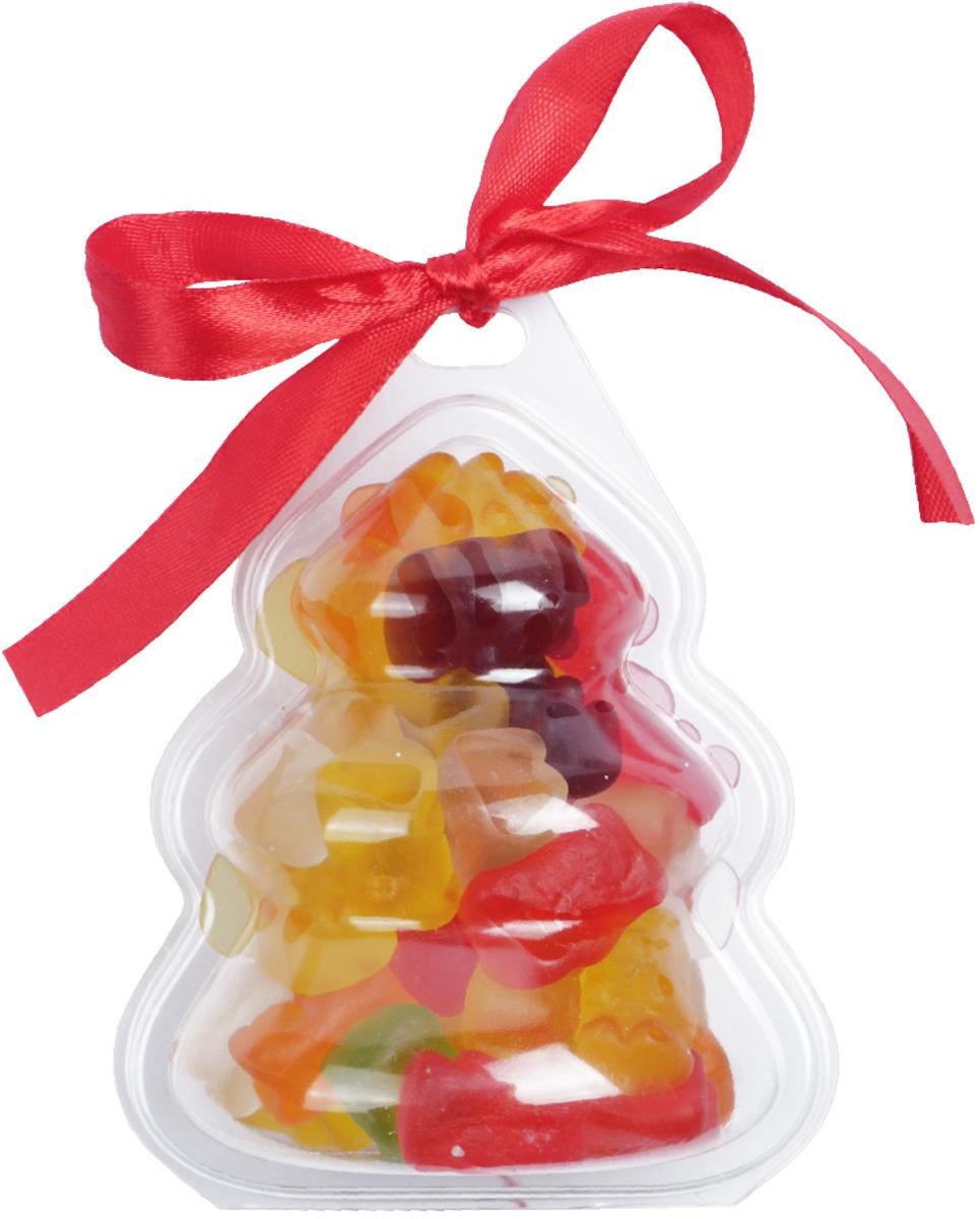 Елочная игрушка Вкусная помощь Елка с мармеладом Медведата, 94 г жевательный мармелад mamba фруктовый микс 24 шт х 72 г