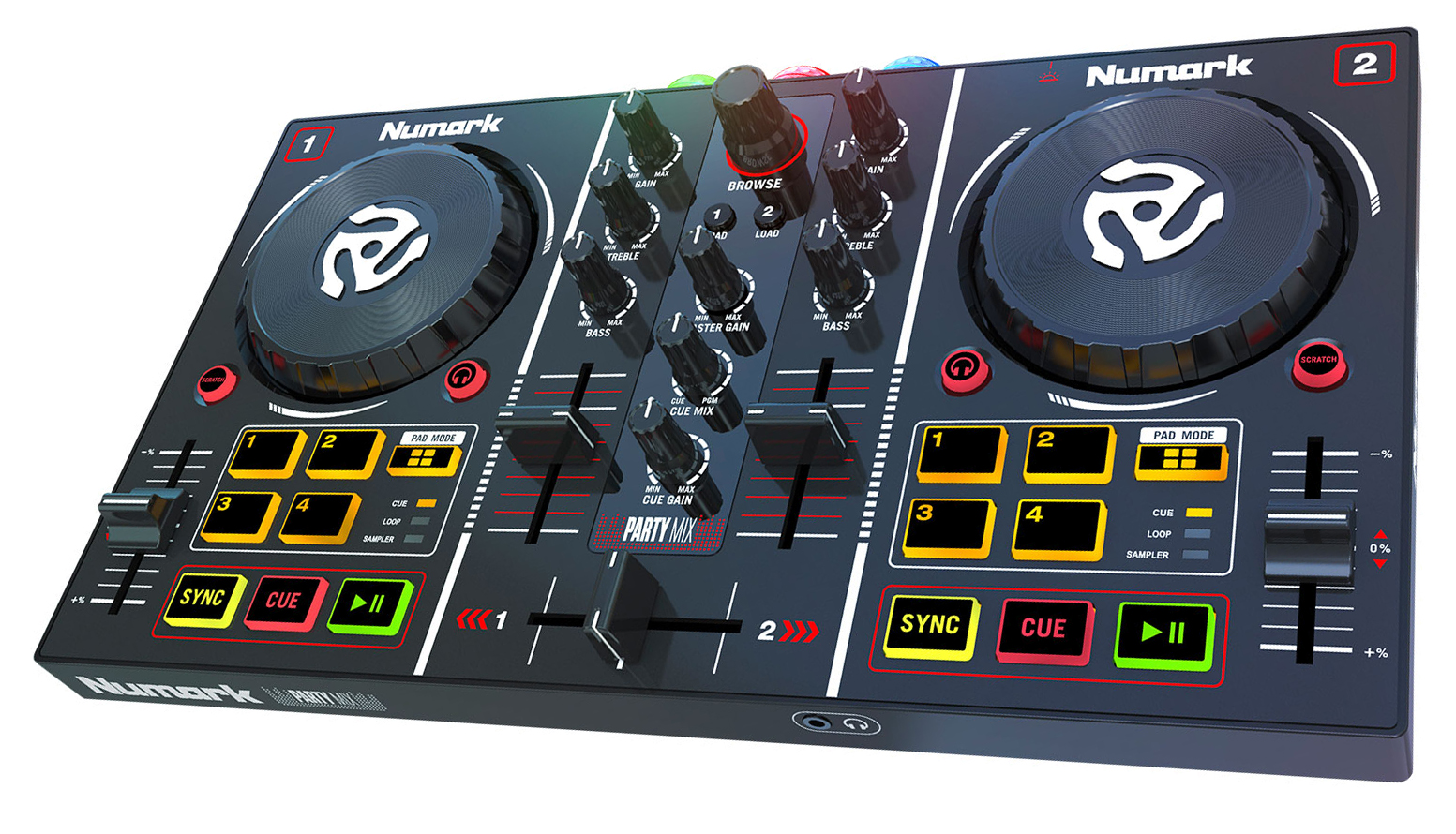 DJ-контроллер NUMARK PARTYMIX цены