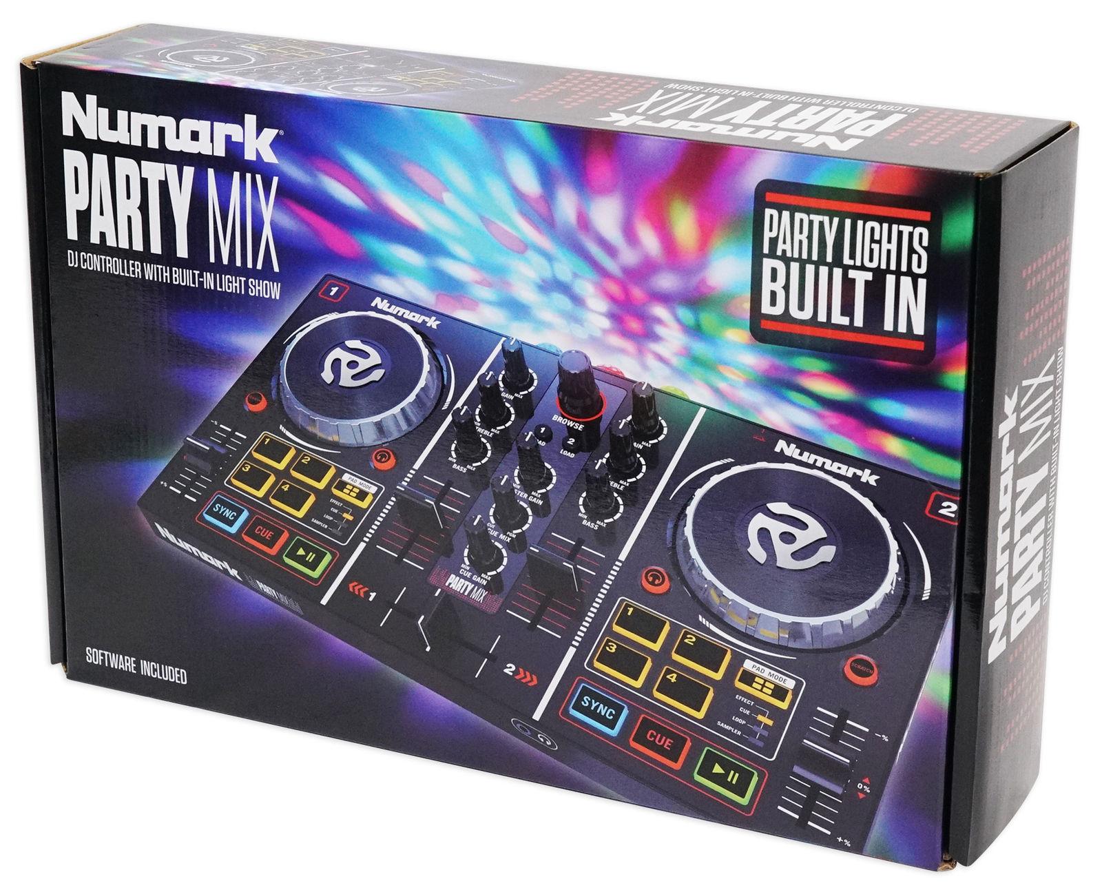 DJ-контроллер NUMARK PARTYMIX Numark