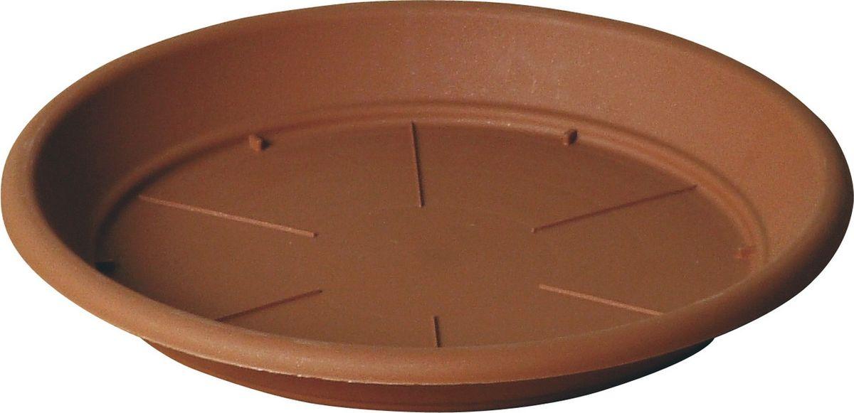 Поддон для цветочного горшка Teraplast Санремо, диаметр 24 см поддон для цветочного горшка deroma самба цвет зеленый диаметр 24 см