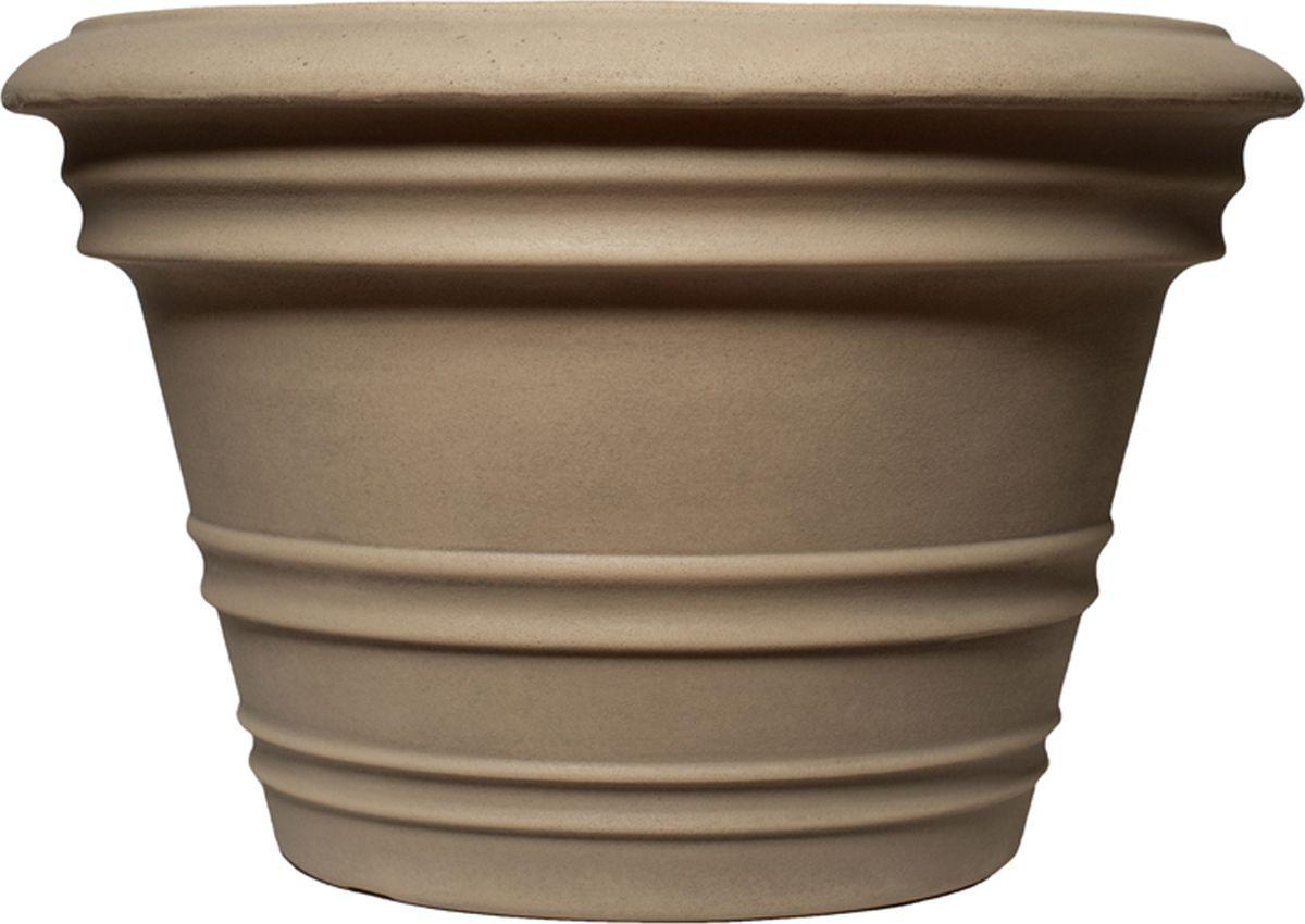 Кашпо для цветов Dominican Garden Лемон, цвет: светло-серый, диаметр 40,6 см кашпо для цветов dominican garden лемон цвет светло серый диаметр 50 8 см