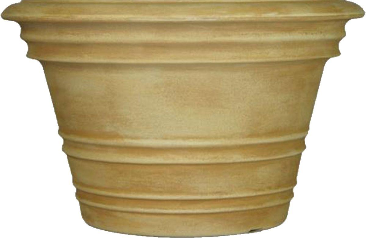 Кашпо для цветов Dominican Garden Лемон, цвет: светло-серый, диаметр 50,8 см кашпо для цветов dominican garden лемон цвет светло серый диаметр 50 8 см