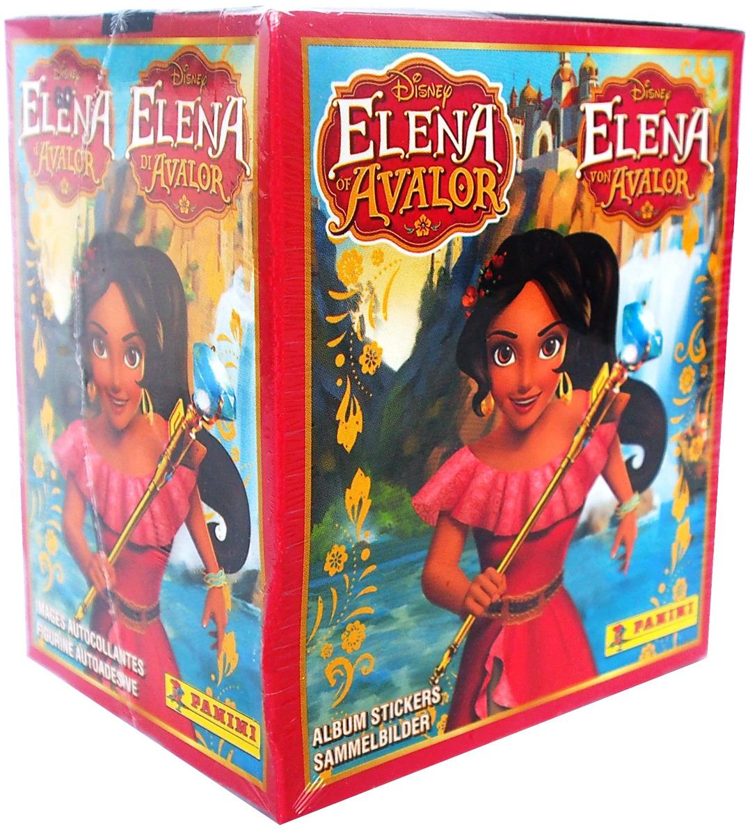 Набор наклеек Panini Elena of Avalor / Елена - принцесса Авалора, 50 пакетиков по 5 шт набор наклеек panini elena of avalor елена принцесса авалора 5 шт