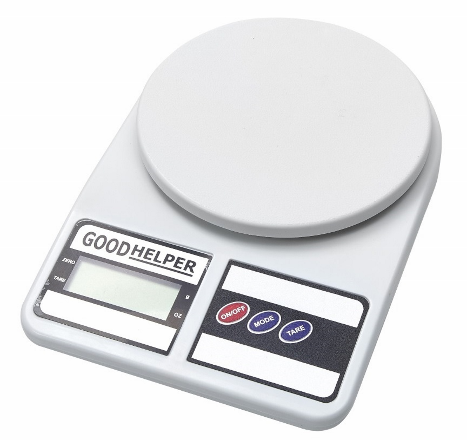 Кухонные весы GOODHELPER Весы кухонные KS-S01, белый