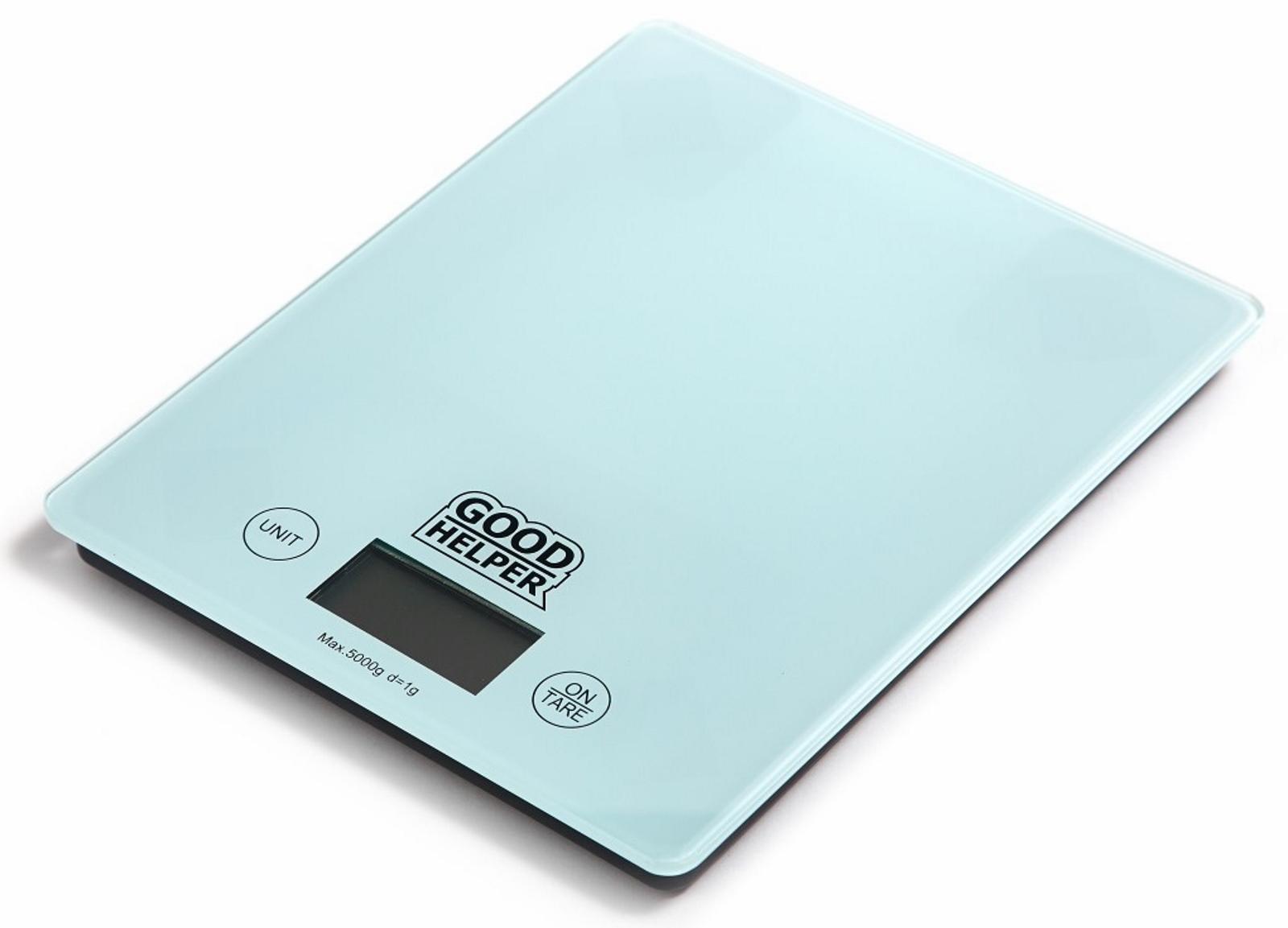 Кухонные весы GOODHELPER Весы кухонные KS-S04, голубой кухонные весы goodhelper ks s04 гол