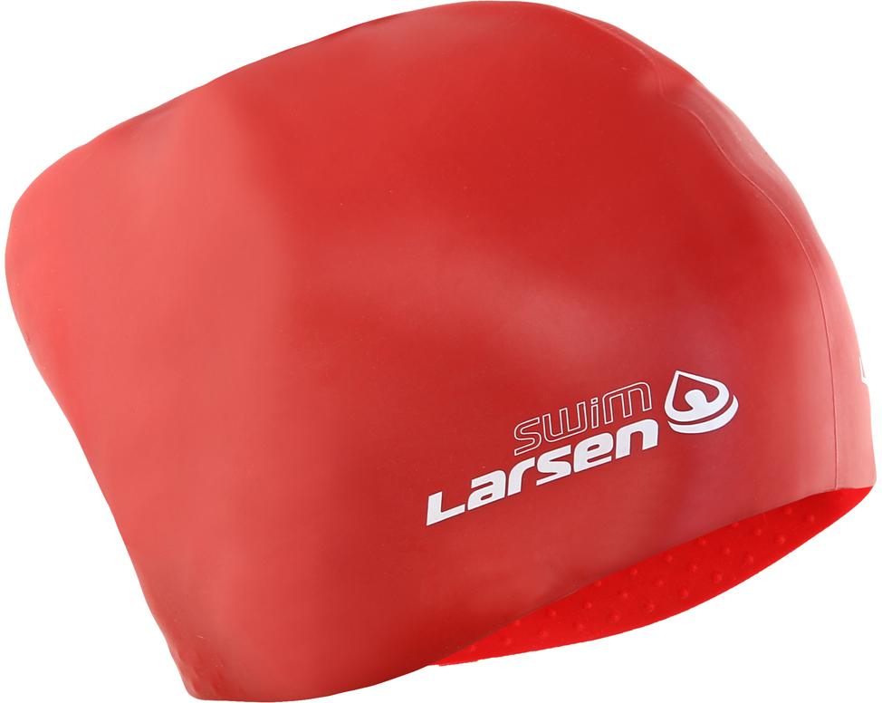 все цены на Шапочка для плавания Larsen 352528, красный онлайн