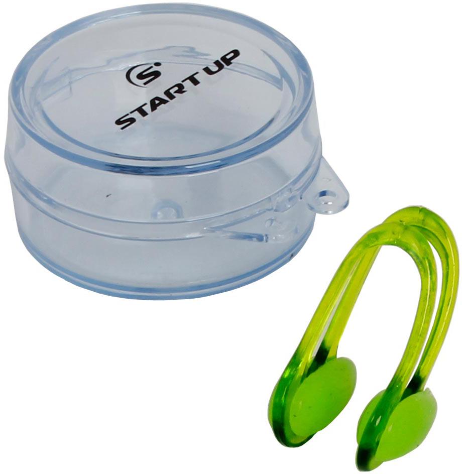 Зажим для носа Start Up АС3, цвет: зеленый353390Зажим для носа Start Up АС3 с гибкой подстраиваемой рамкой для разных типов лица. Мягкие силиконовые подушечки удобно прилегают и остаются при этом неощутимыми, обеспечивая комфорт. В комплекте кейс для хранения. Рекомендуем!