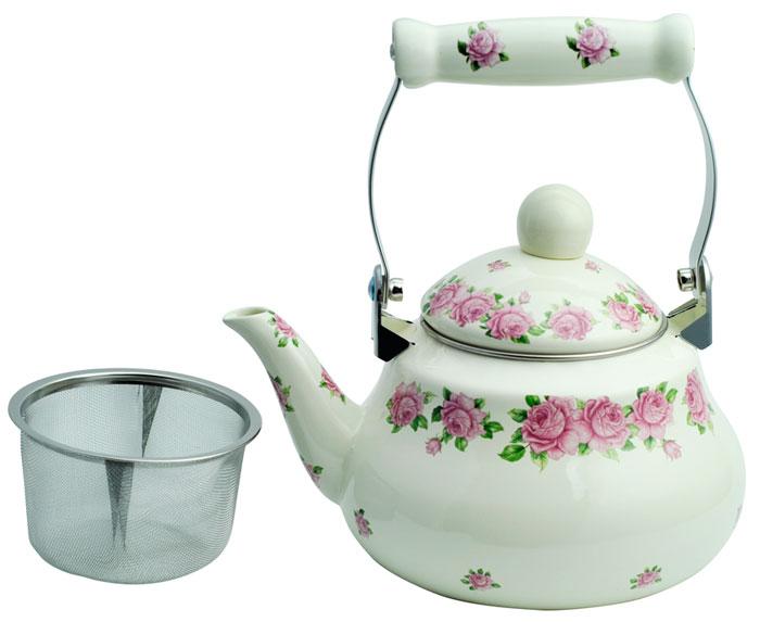 Чайник заварочный Winner Rose, 1,5 л. WR-5119 чайник заварочный winner wr 5119 белый рисунок 1 5 л металл