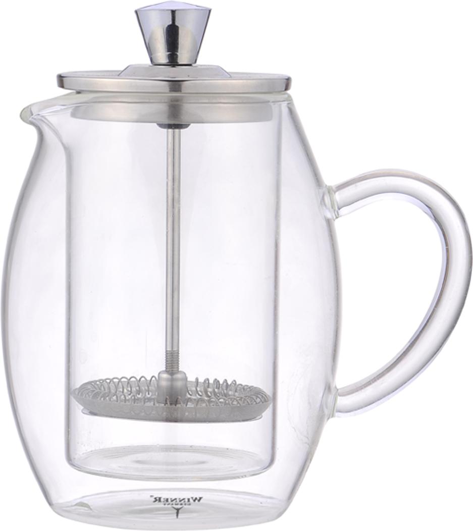 Чайник заварочный Winner, 0,6 л. WR-5216 чайник заварочный winner wr 5119 белый рисунок 1 5 л металл
