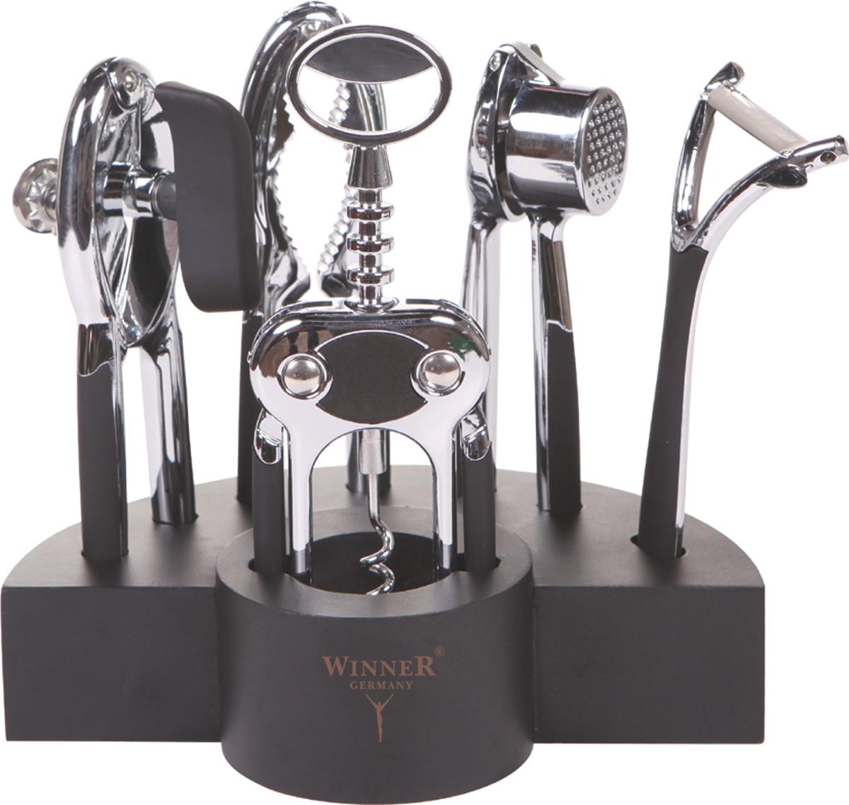Набор открывалок Winner WR-7100, 6 предметов набор открывалок winner wr 7103 6 предметов