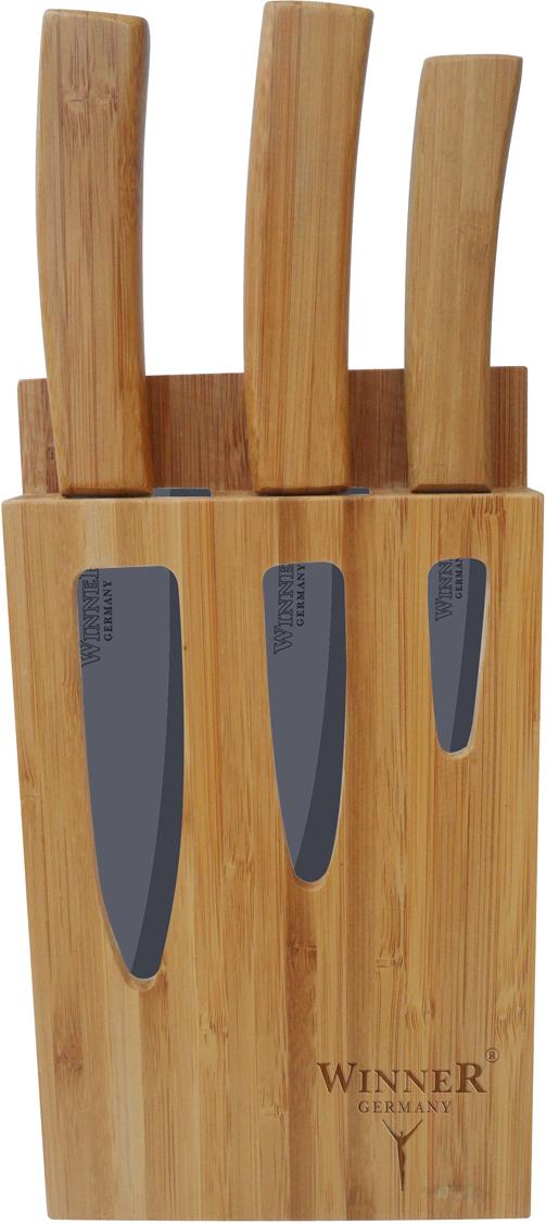 все цены на Набор керамических ножей Winner WR-7311, 4 предмета онлайн