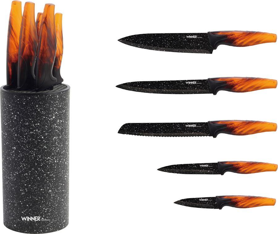 Набор ножей Winner WR-7357, 6 предметов winner wr 7357