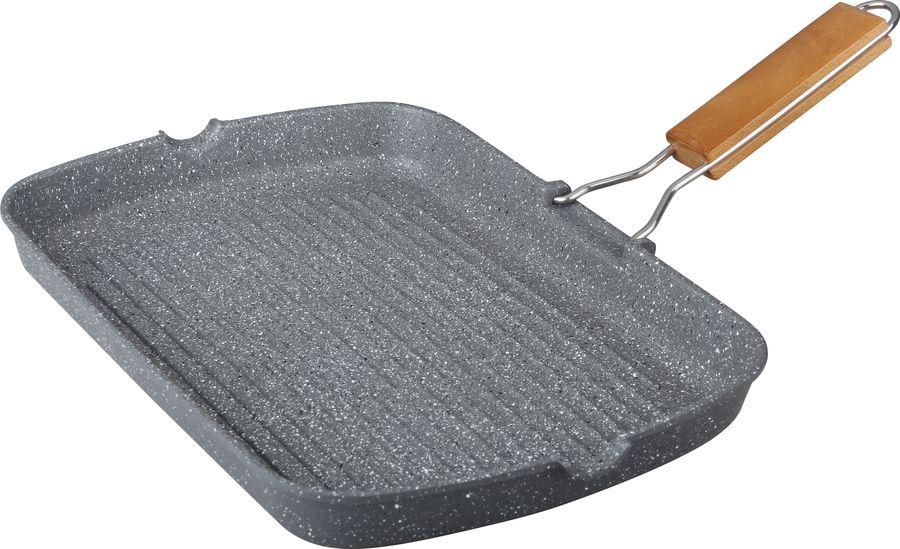 Сковорода Winner, 36 х 24 см, с мраморным покрытием. WR-8167