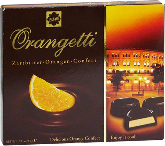 Фото - Набор шоколадных конфет Eichettil, пралине с кремово-апельсиновой начинкой, 83 г мадлен набор конфет всего наилучшего 250 г