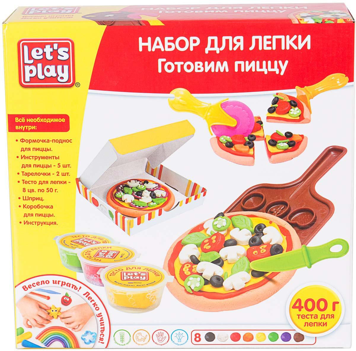 Набор для лепки Let's Play