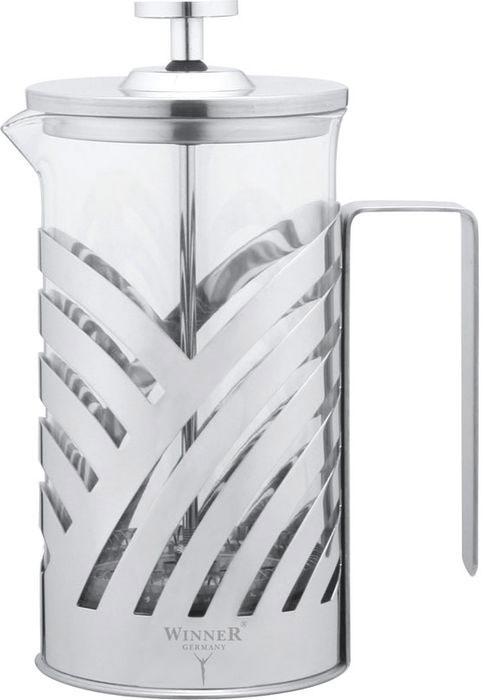 Чайник заварочный Winner, 0,6 л. WR-5202 чайник заварочный winner wr 5119 белый рисунок 1 5 л металл