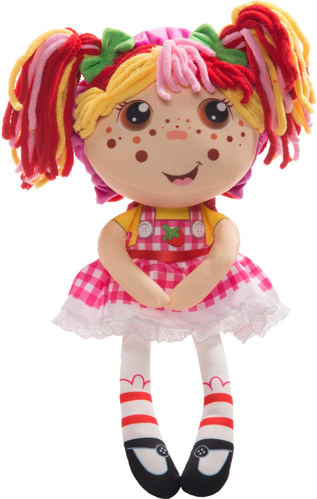 """Кукла плюшевая 1TOY """"Девчушка-вывернушка Ксюшка 2в1"""""""