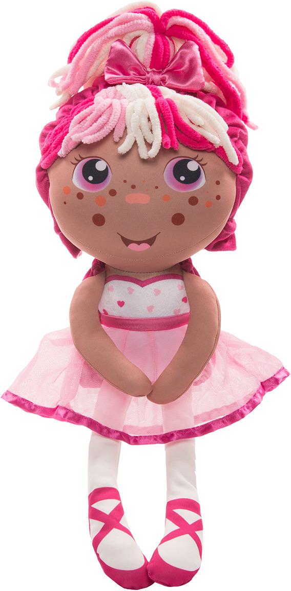 """Кукла плюшевая 1TOY """"Девчушка-вывернушка Катюшка 2в1"""""""