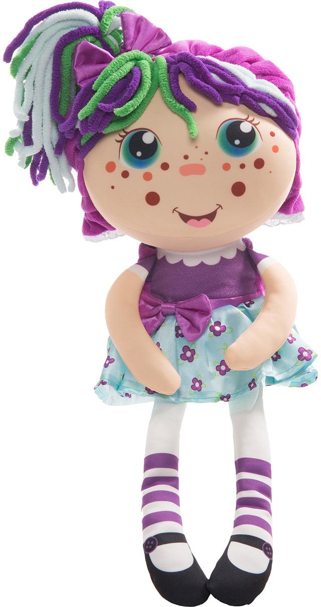 """Кукла плюшевая 1TOY """"Девчушка-вывернушка Варюшка 2в1"""""""