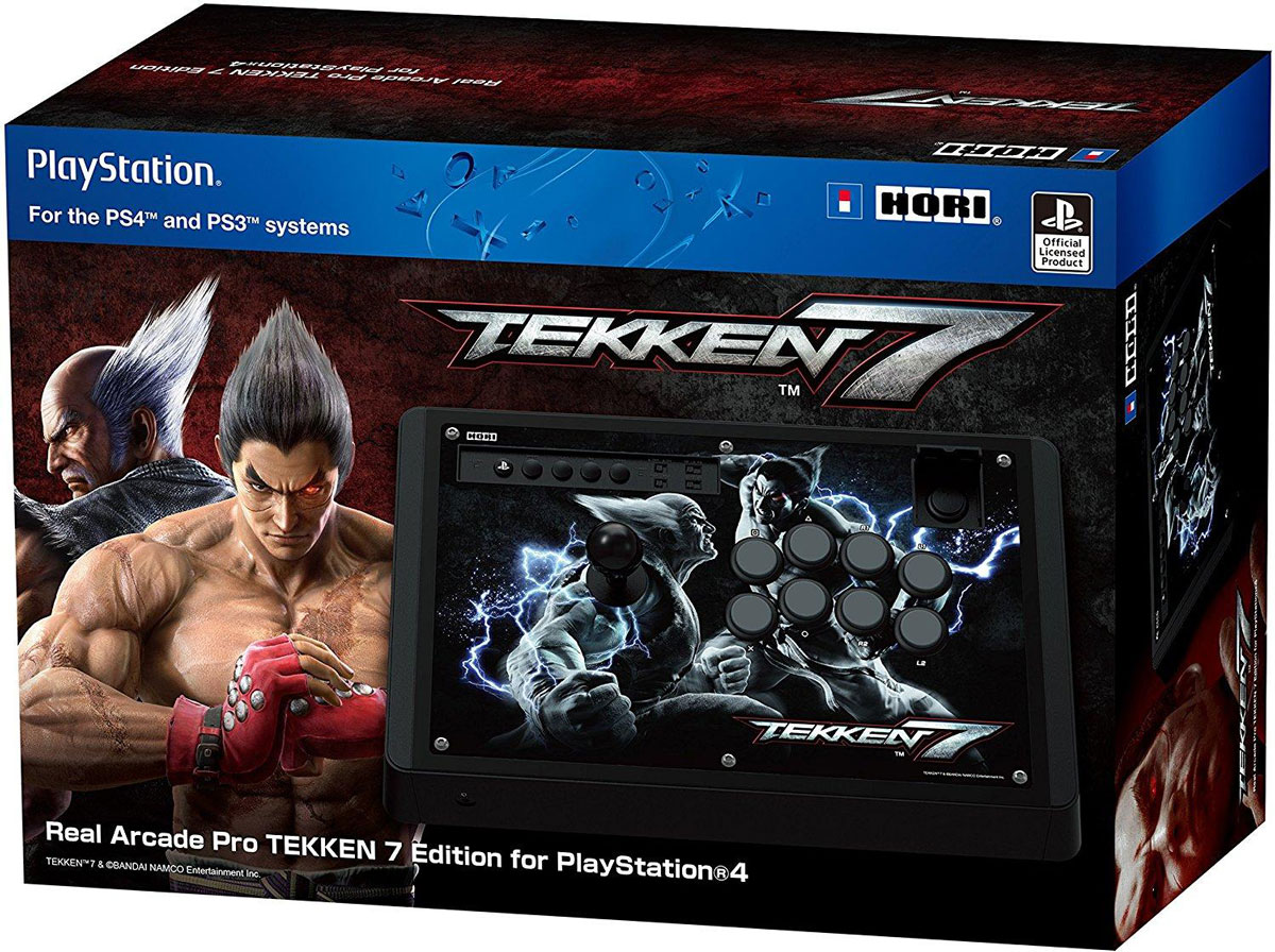 Hori Real Arcade Pro TEKKEN 7 Edition аркадный стик для PlayStation4 hori real arcade pro n hayabusa for playstation 4