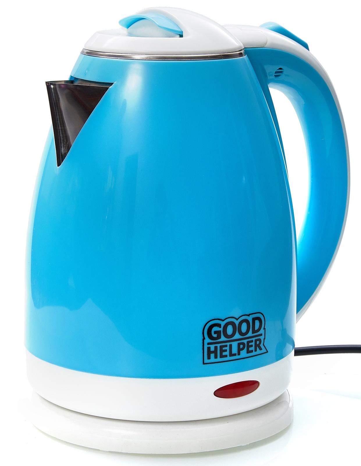 Электрический чайник GOODHELPER Чайник электрический GOODHELPER KPS-180C голубой, KPS-180C goodhelper kps 180c зеленый