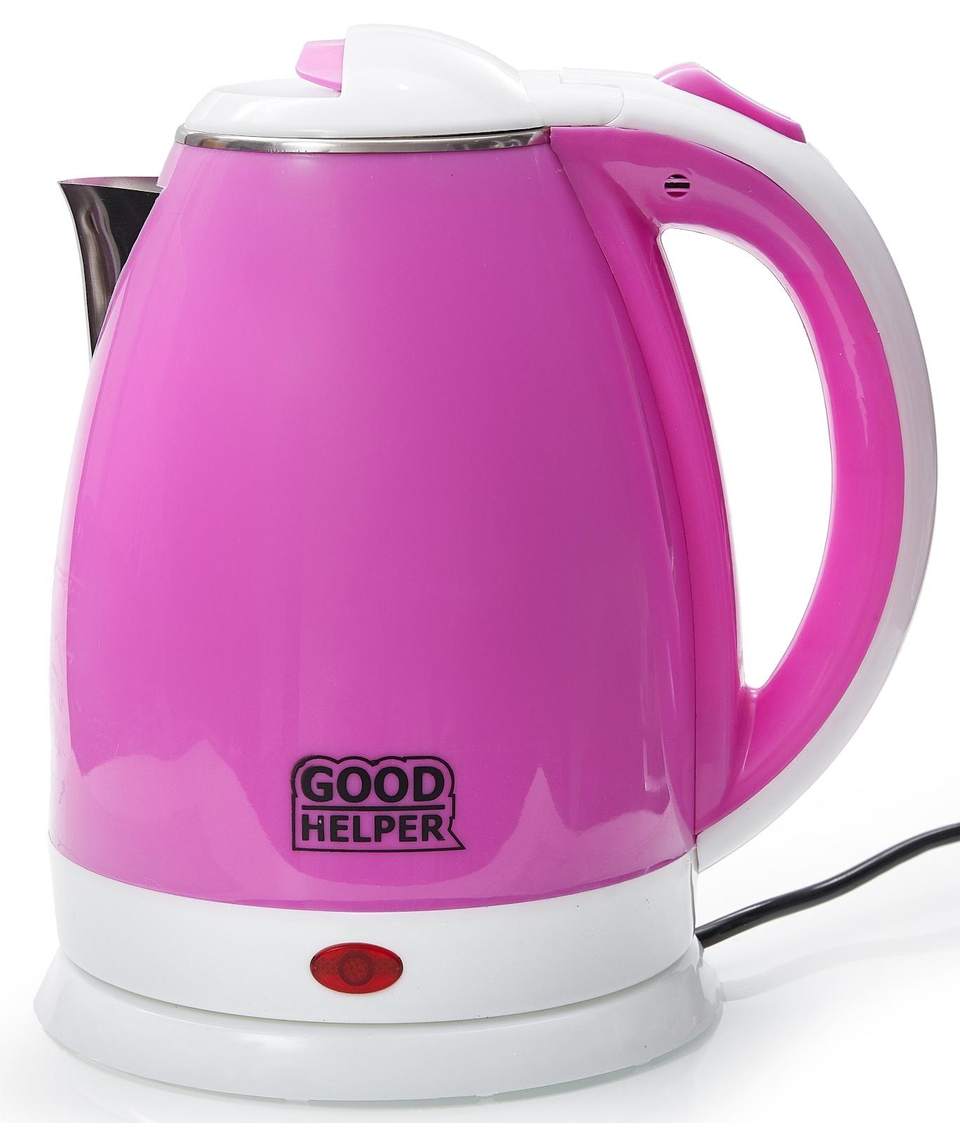 Электрический чайник GOODHELPER Чайник электрический GOODHELPER KPS-180C фиолетовый, KPS-180C фиолетовый goodhelper kps 180c зеленый