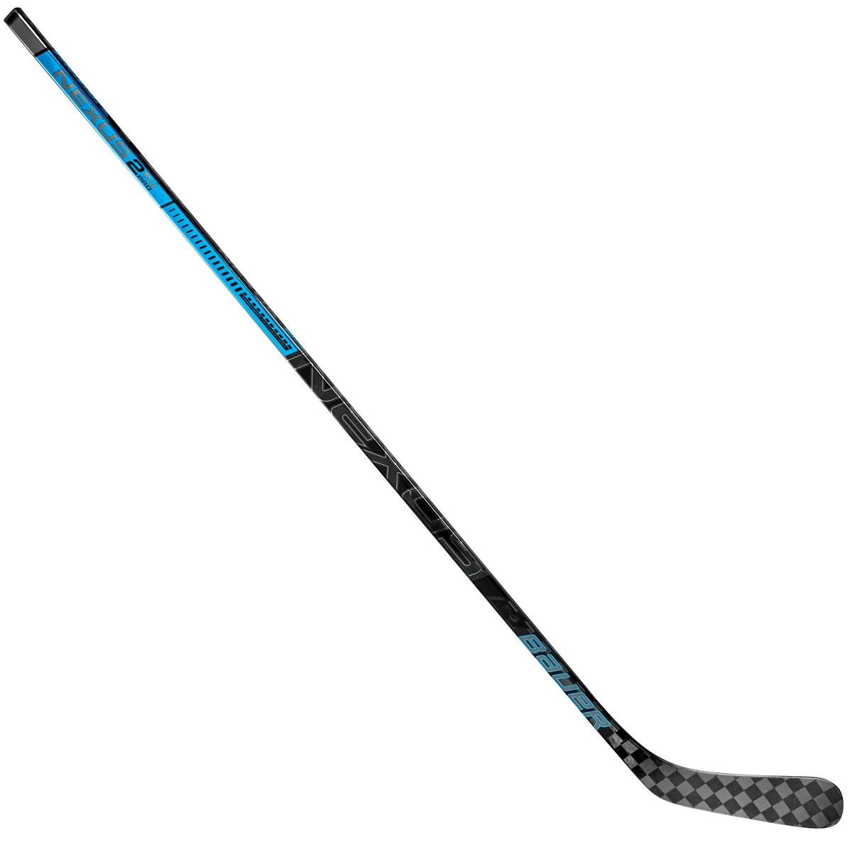 Клюшка хоккейная Bauer S18 Nexus 2N Pro Mini P08, левая bauer коньки хоккейные bauer s17 vapor x700