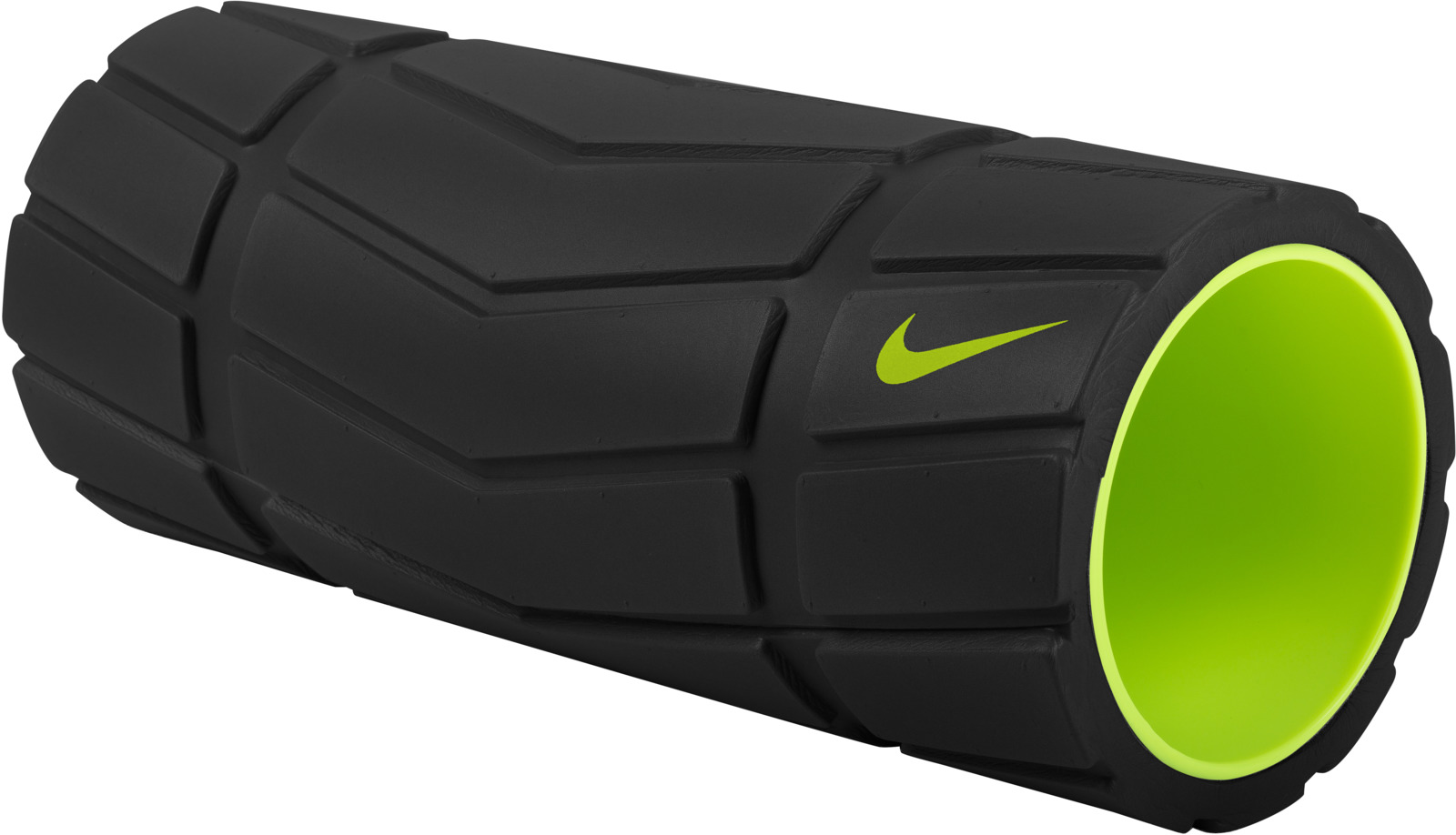 Ролик массажный Nike, цвет: черный, желтый ролик массажный torneo электрический