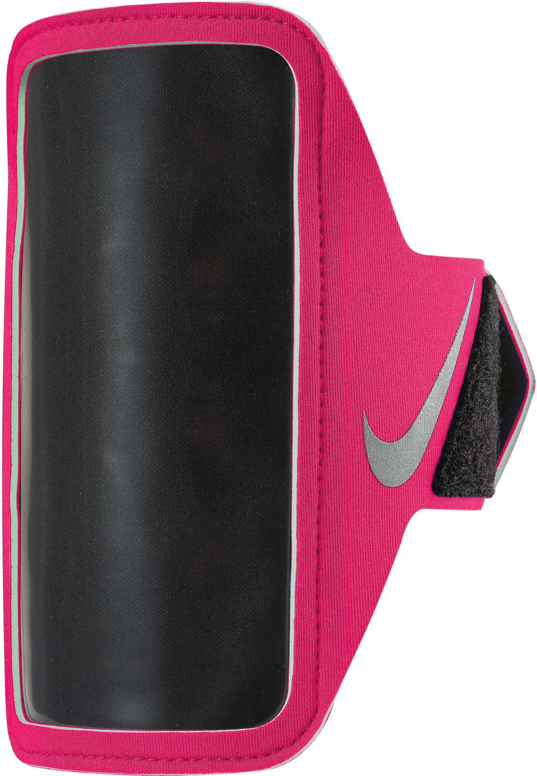 Чехол для телефона на руку Nike, цвет: розовый, серебряный. N.RN.65.673.OS