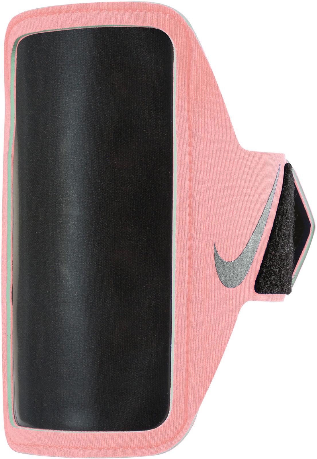Чехол для телефона на руку Nike, цвет: розовый, серебряный. N.RN.65.698.OS