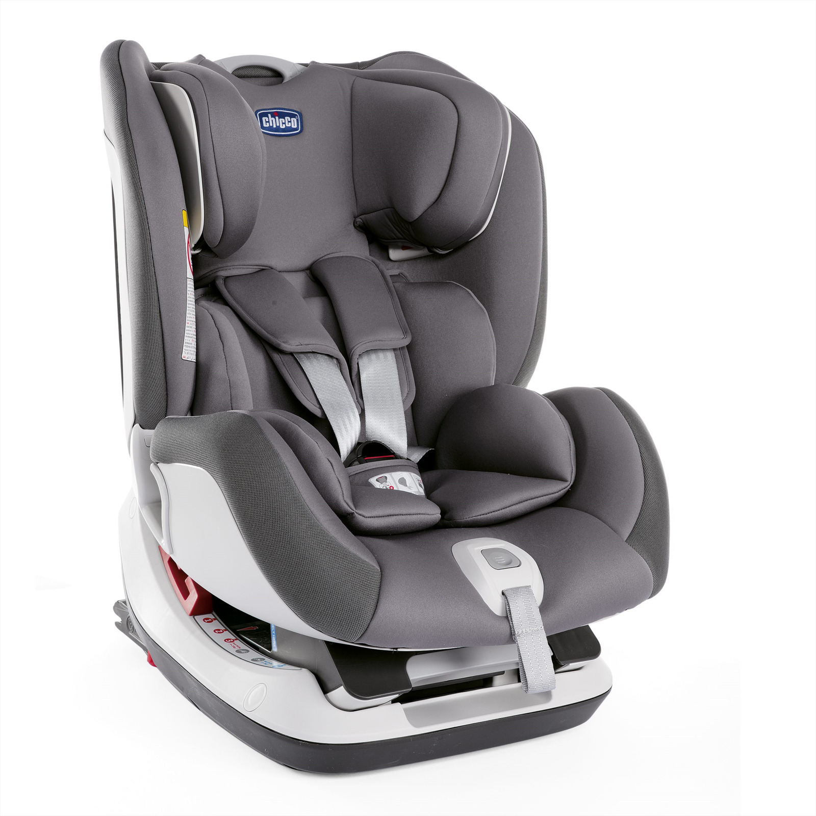 Автокресло Chicco Seat-Up 012, до 25 кг, цвет: серый автокресло chicco seat up pearl
