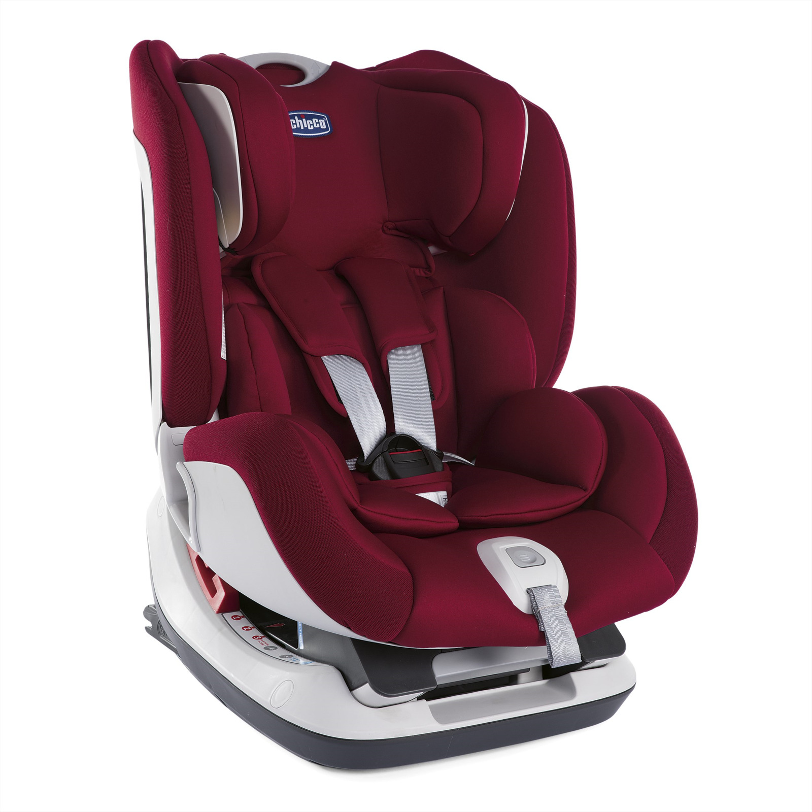 Автокресло Chicco Seat Up 012 от 0 до 25 кг, 07079828640000, бордовый автокресло chicco seat up pearl