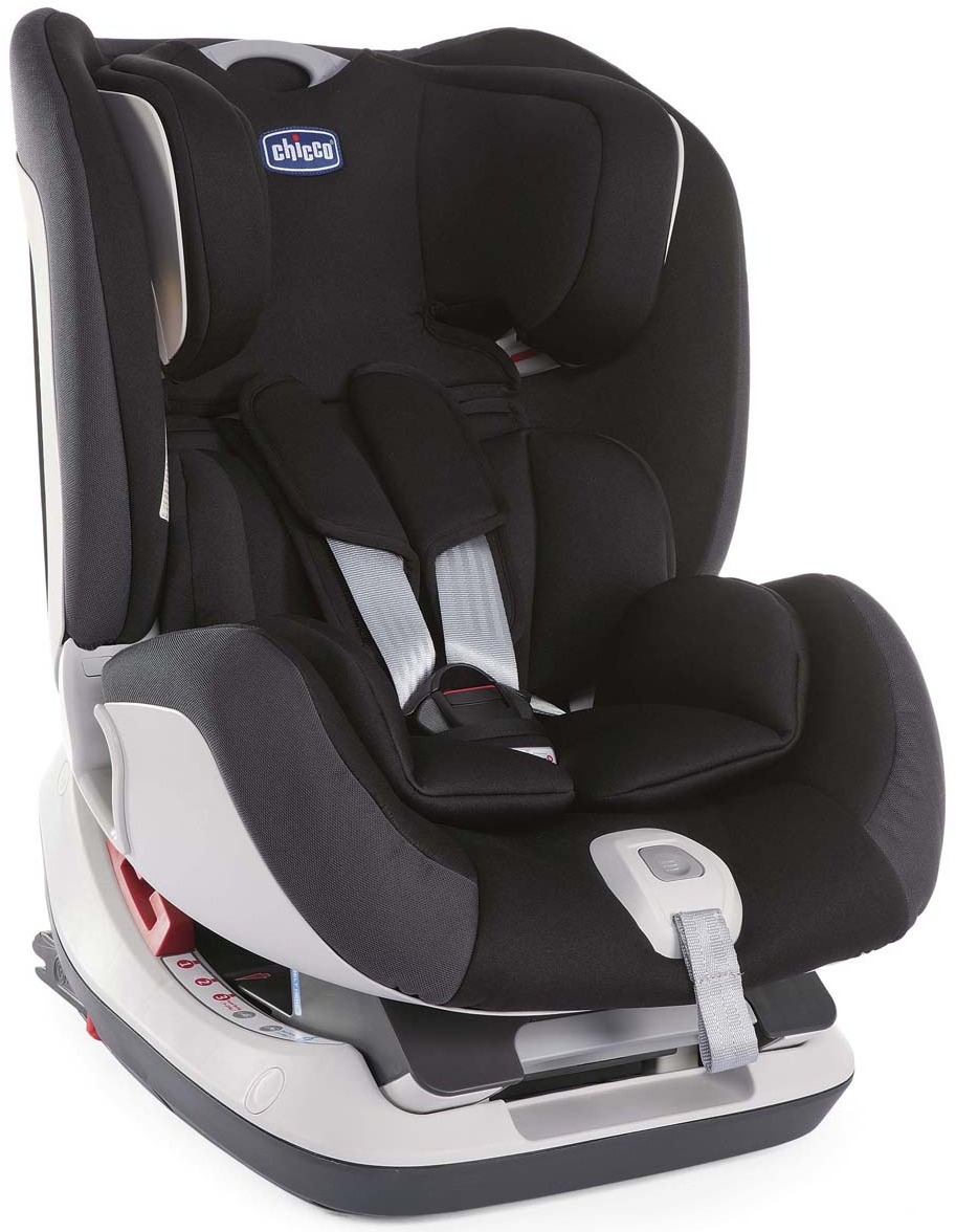 Автокресло Chicco Seat-Up 012, до 25 кг, цвет: черный автокресло chicco seat up pearl