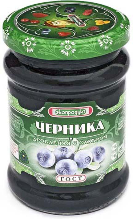 Черника Экопродукт, с сахаром, 320 г стоимость