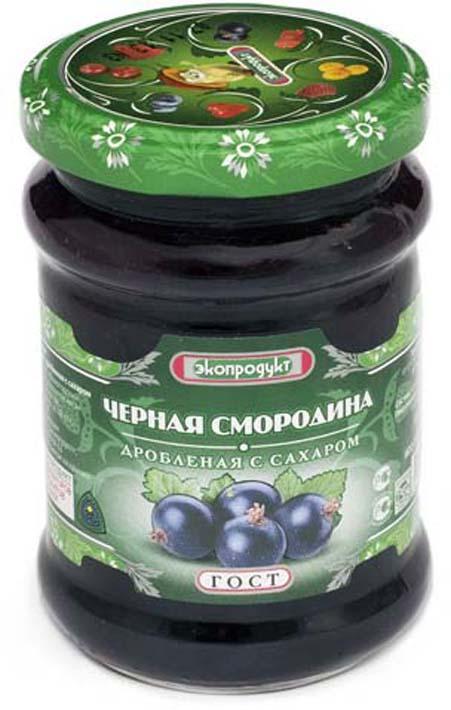 Черная смородина Экопродукт, с сахаром, 320 г стоимость