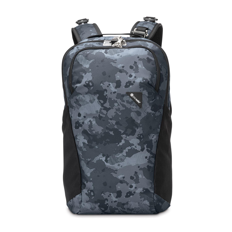 Рюкзак для ноутбука Pacsafe Рюкзак антивор Vibe 20, цвет: серый камуфляж, 20 л цены