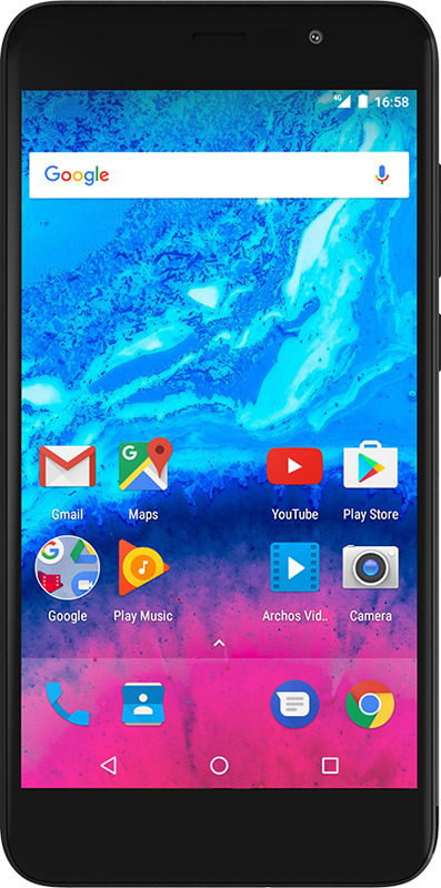 Смартфон Archos Core 55P 1/16GB, черный