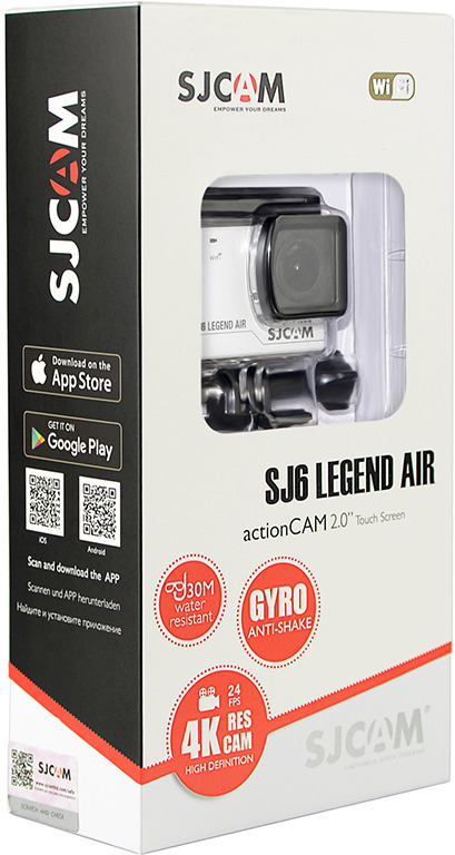 Экшн-камера SJCAM Legend Air SJ6 SJCAM