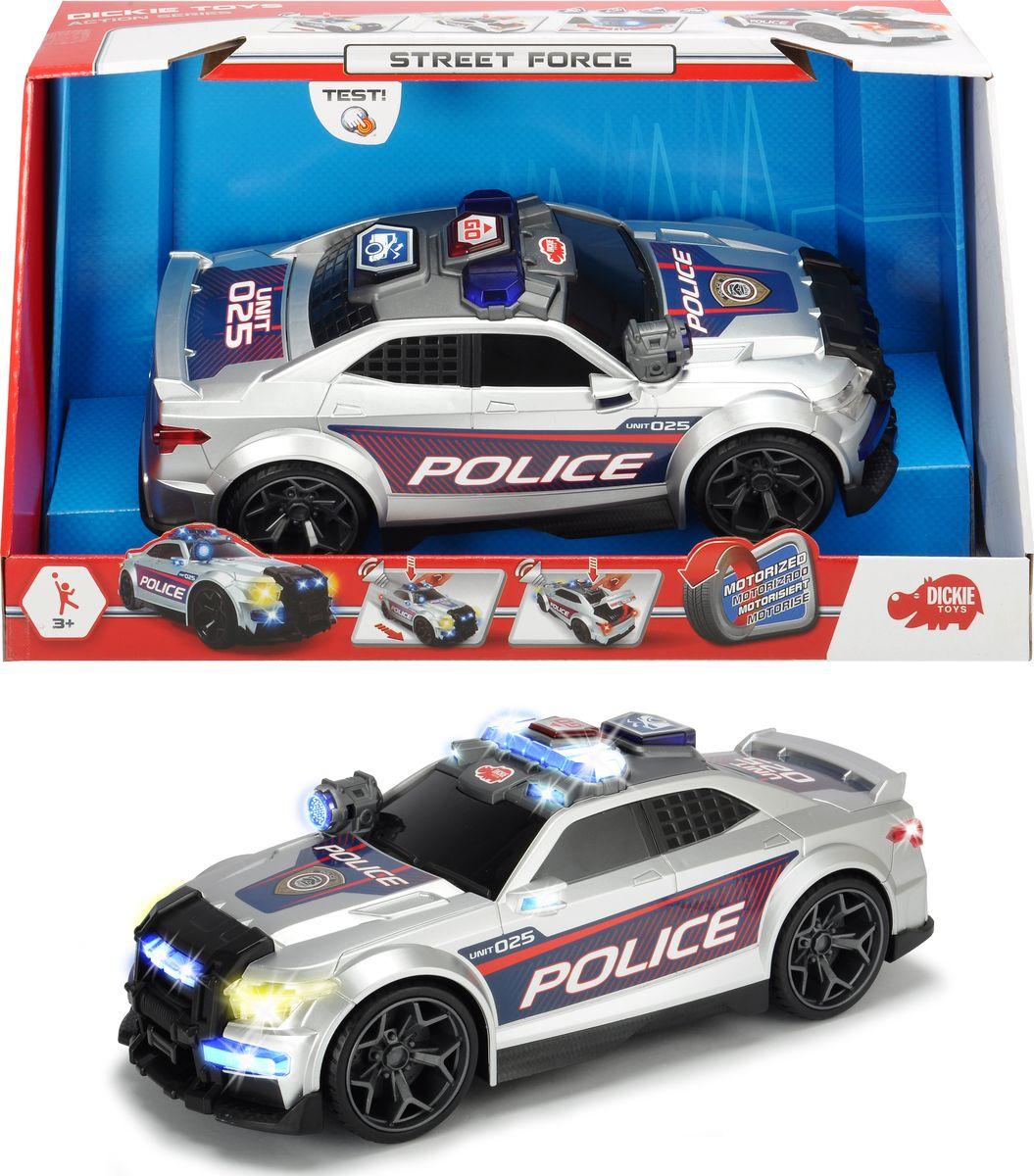Полицейская машина Dickie Toys Street force. Сила улиц, 33 см машины dickie машина mater