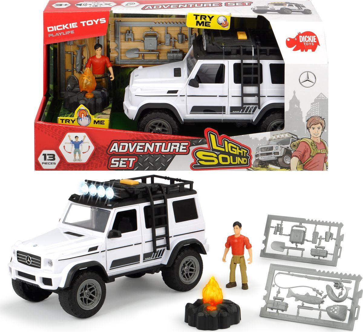 Игровой набор Dickie Toys PlayLife. Набор искателя приключений dickie toys игровой набор светофор city traffic