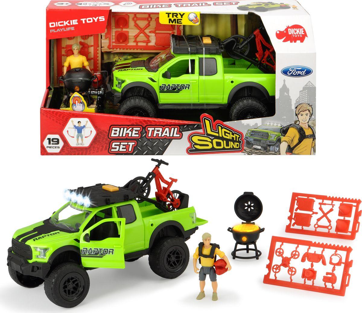 Игровой набор Dickie Toys PlayLife. Набор велосипедиста dickie toys набор машинок car trailer 5 шт
