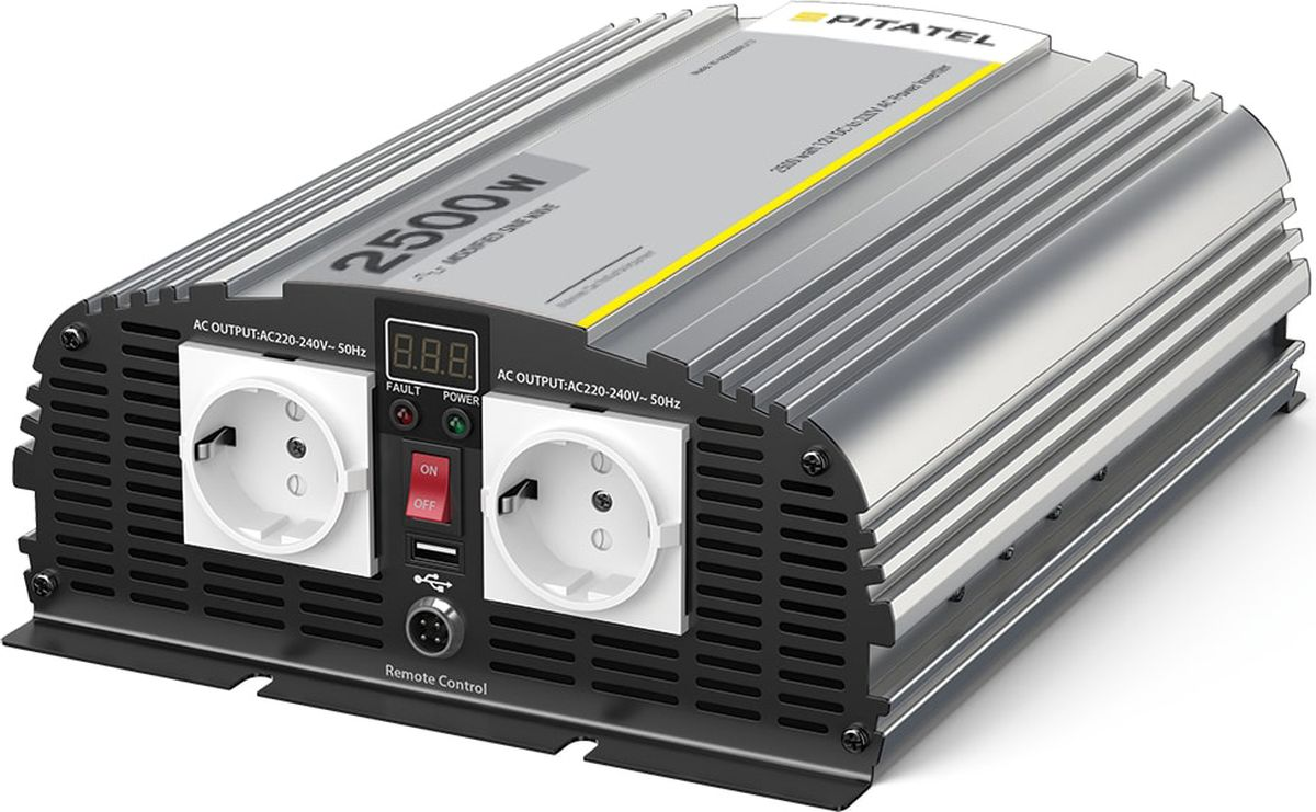 Инвертор Pitatel KV-M2500DRU.24 увлажнитель воздуха щита питания 25 вт 34 в входное напряжение 220 в 240 в