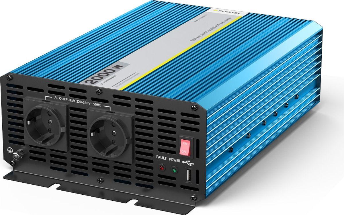 Инвертор Pitatel KV-P2000RU.24 увлажнитель воздуха щита питания 25 вт 34 в входное напряжение 220 в 240 в
