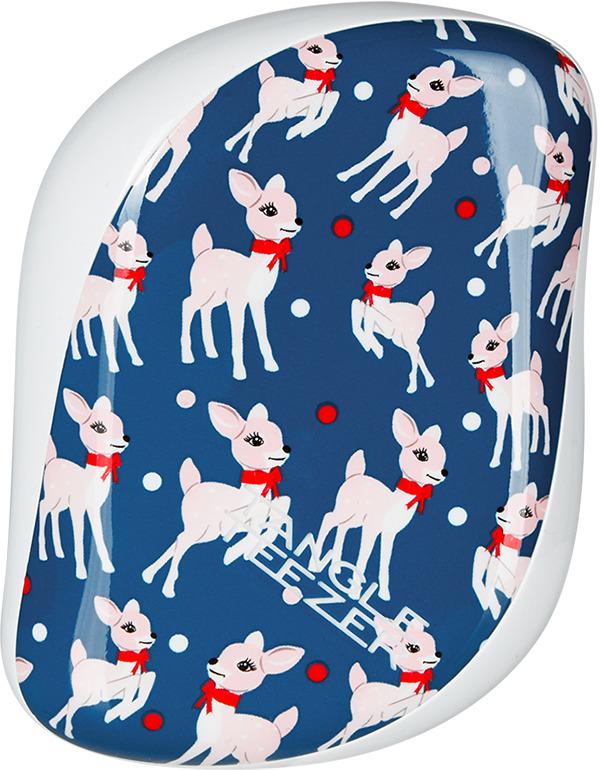 Расческа Tangle Teezer Compact Styler Prancing Deer, цвет: синий