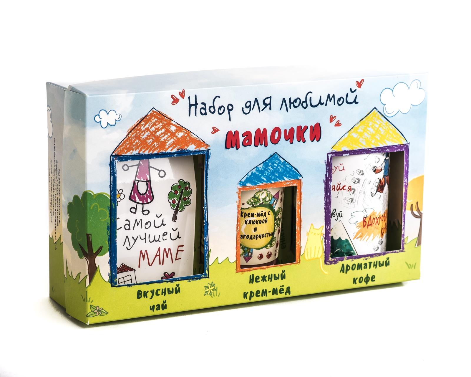 Подарочный набор из 3 продуктов Фудсторис