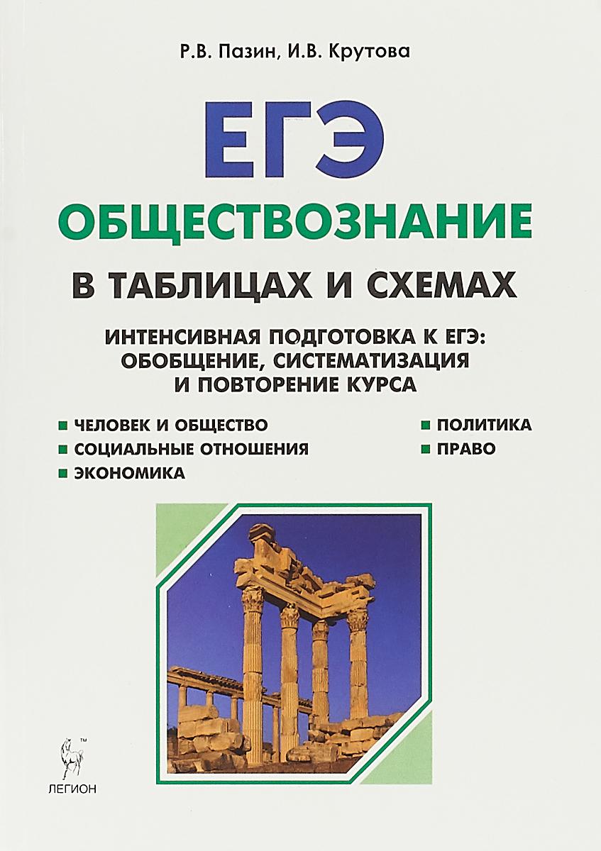 Р. В. Пазин, И. В. Крутова ЕГЭ. Обществознание в таблицах и схемах