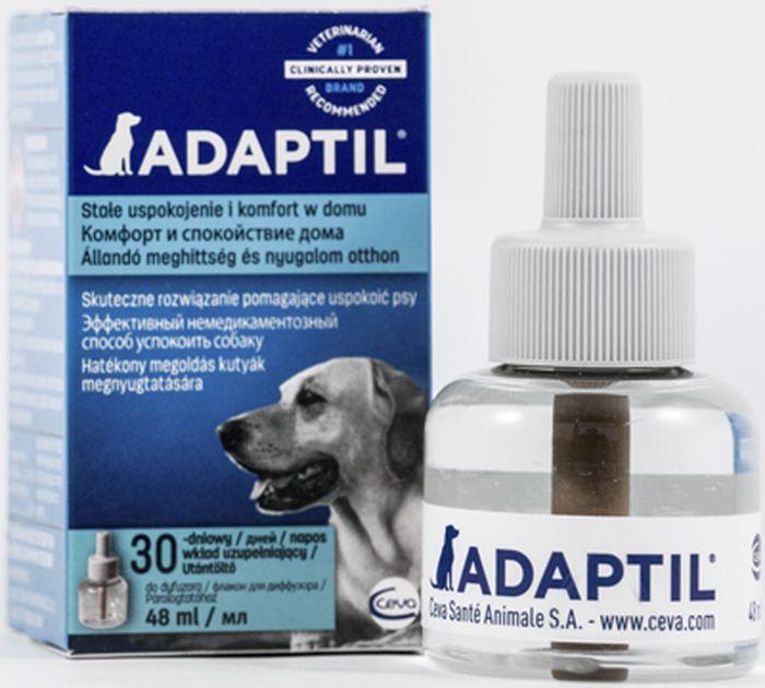 Модулятор поведения для собак Ceva Адаптил сменный блок поливитамины ceva для собак с протеином 60 таблеток