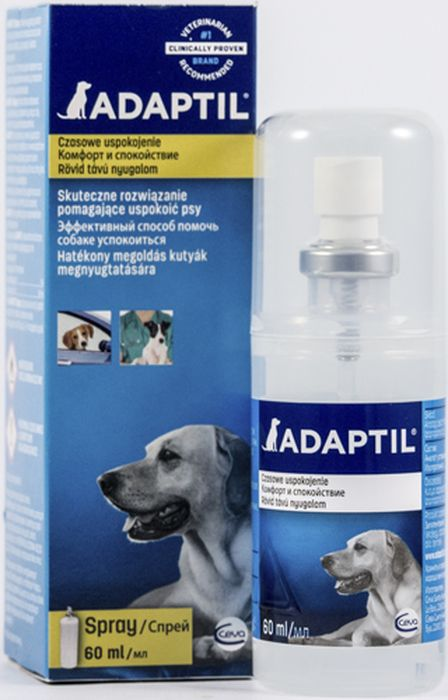 Модулятор поведения для собак Ceva Адаптил спрей поливитамины ceva для собак с протеином 60 таблеток